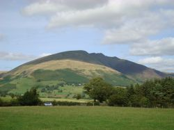 Blencathra from Castlerigg Stone Circle