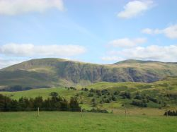 Hills view from Castlerigg Stone Circle