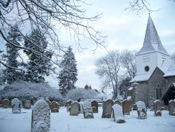Great Bookham Church Scene