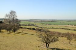 View looking west from Watlington Hill, Watlington