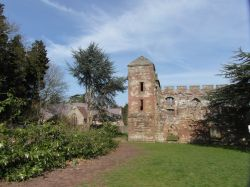 Acton Burnell - the Castle and St. Mary's Church