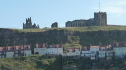 View of the Ruined Whitby Benedictine Abbey