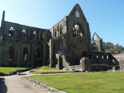 Tintern Abbey and the Ruined Church on the Hill