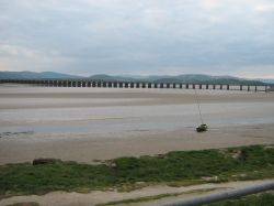 Viaduct over the Kent Estuary