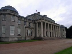 The impressive entrance of Shugborough Hall (NT)