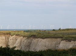 Thanet wind farm Foreness Point Margate