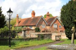 Houses near Church of St. Thomas of Canterbury, Goring