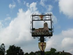Dennington Village Sign