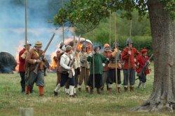 Civil War Re-enactment.