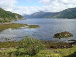 Loch Duich from the Castle