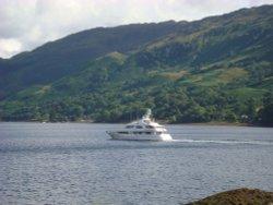 Boating on Loch Duich