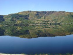 Crystal clear waters of Loch Duich