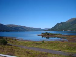 Loch Duich from the A87