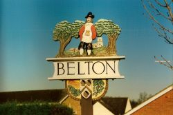 Belton Village Sign