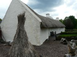 Robbie Burns' cottage