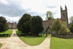 Chawton House and St. Nicholas Church