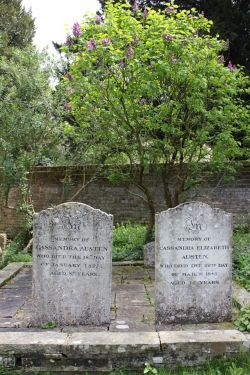 The Resting Place of Jane Austen's Mother and Sister.