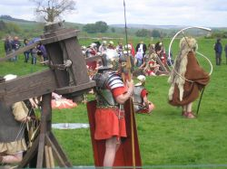 Roman re-enactment