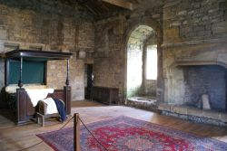 Master's Bedroom at Castle Bolton