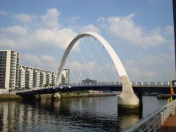 The Squinty Bridge and the Clyde Arc