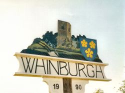 Whinburgh Village Sign