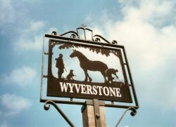 Wyverstone, Suffolk, Village Sign