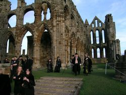 Wedding at Whitby Abbey