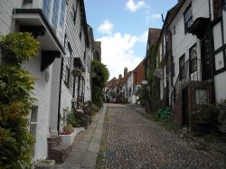 Rye Town, East Sussex Wallpaper