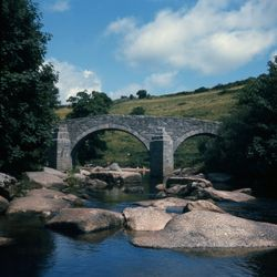 Huccomb Bridge over the River Dart, Dartmoor