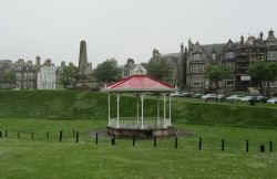 Bandstand and Memorial