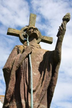 Statue of St Aidan