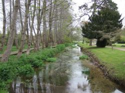 The River Piddle at Athelhampton House