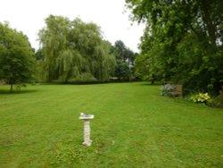 Garden in Yoxford.