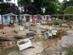 Trash to treasure in Yoxford
