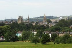 Looking back towards the City of Oxford from South Park