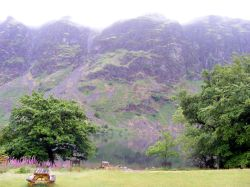 View from YHA across Wast Water