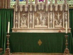 The High Altar of Holy Trinity Church