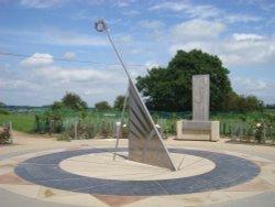 The memorial sundial