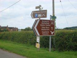 Signposts in Ambion Lane, Sutton Cheney