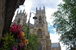 Colourful view of York Minster