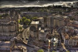 Central Bristol from on high