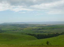 Landscape around Abbotsbury