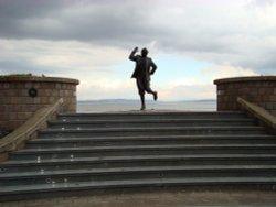 Statue of Eric Morecambe