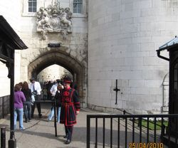 Entrance to Tower of London Wallpaper