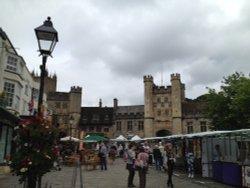 Market day in Wells