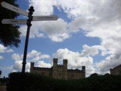 Sky over Leeds Castle July 2012