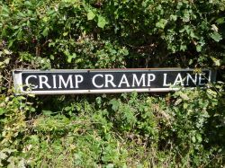 Road sign in Wheatacre