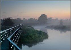 Footbridge over River Trent, Alrewas.