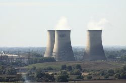 Cooling Towers at Didcot Power Station