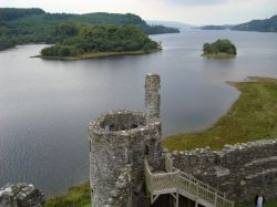 View West along Loch Awe